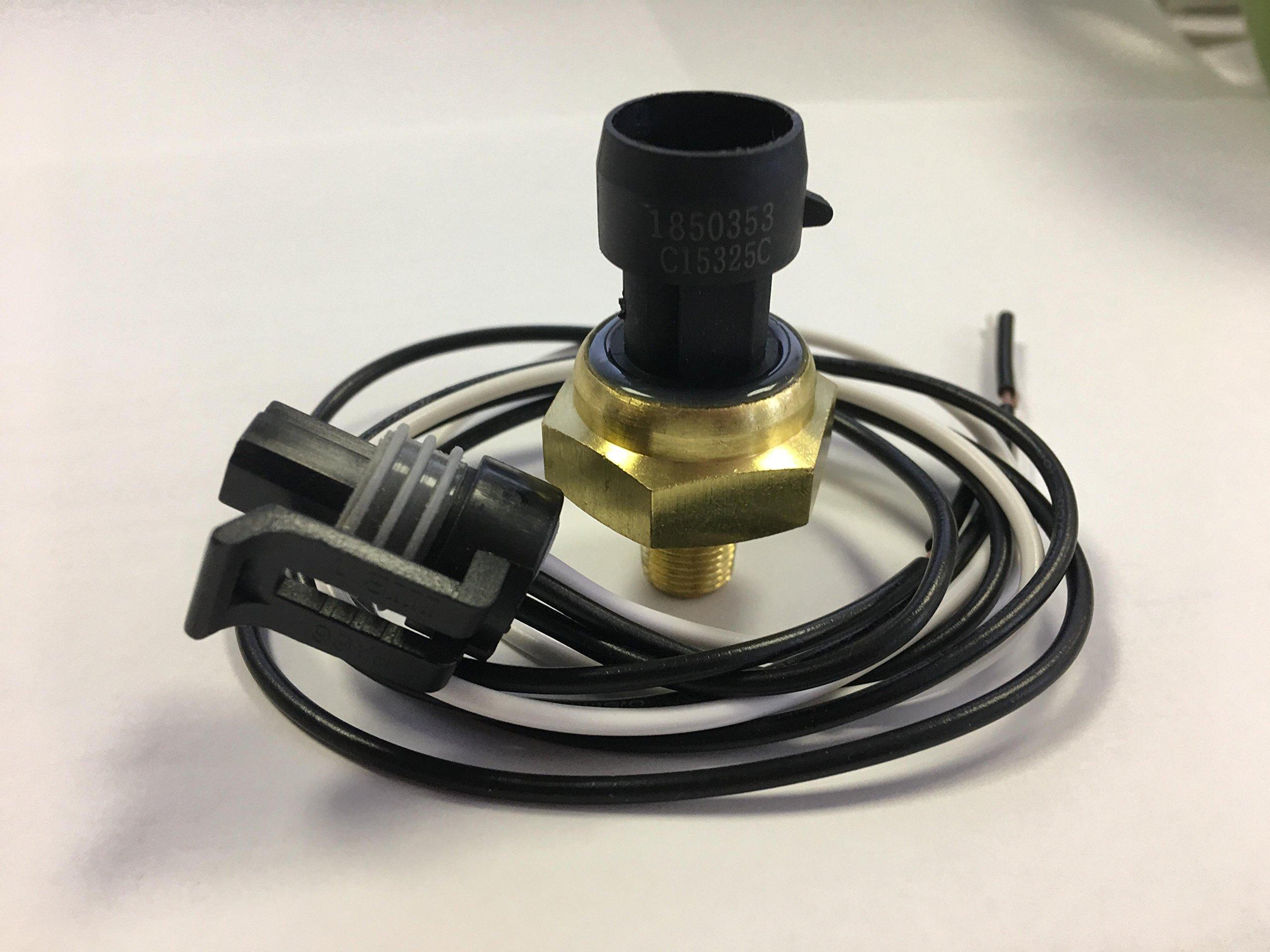 EGR EBP Pressure Sensor Replaces FORD/Motorcraft DPFE3 4C3Z-9J460A With Plugwire 1996-2003 7.3L & 6.0L Powerstoke