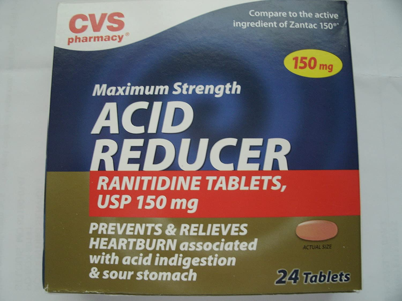 amazon com cvs pharmacy maximum strength acid reducer ranitidine