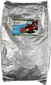 Aquascape 81003 Premium Cold Water Fish Food Pellets for Large Pond Fish, Large Pellet, 22 Pounds