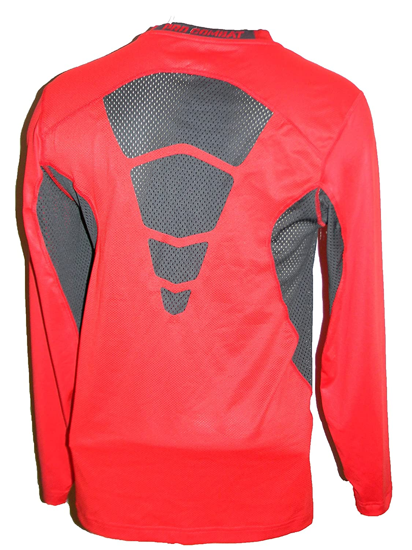 894540ad0e9ab Amazon.com : Nike Pro Combat Elite Compression Baseball Shirt Red  578312-659 Medium : Sports & Outdoors