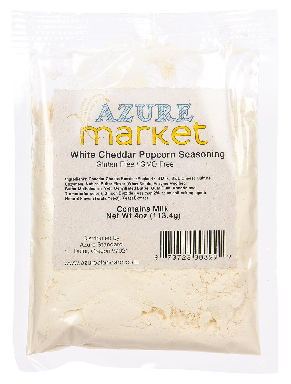 Azure Market Popcorn Seasoning White Cheddar 4 Oz Amazon Com