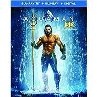 Aquaman (Bilingual) [3D Blu-Ray + Blu-Ray + Digital]