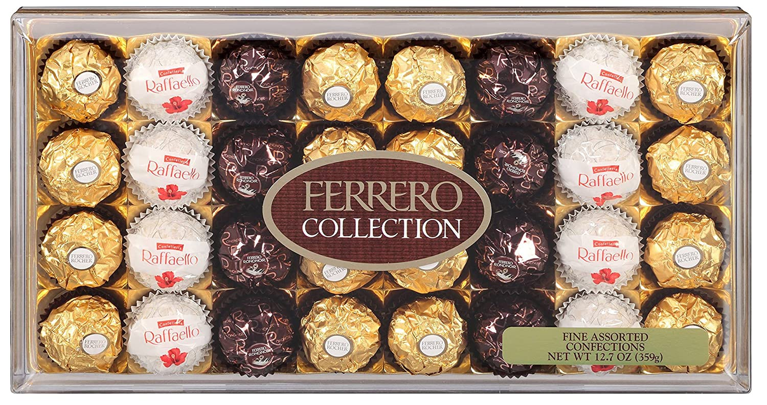 Amazon.com : Ferrero Collection, Fine Assorted Confections, 32 ...