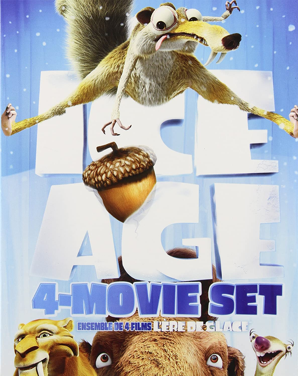 Amazon.com: Ice Age Comp (1-4) Bs Bd-cb [Blu-ray]: Movies & TV