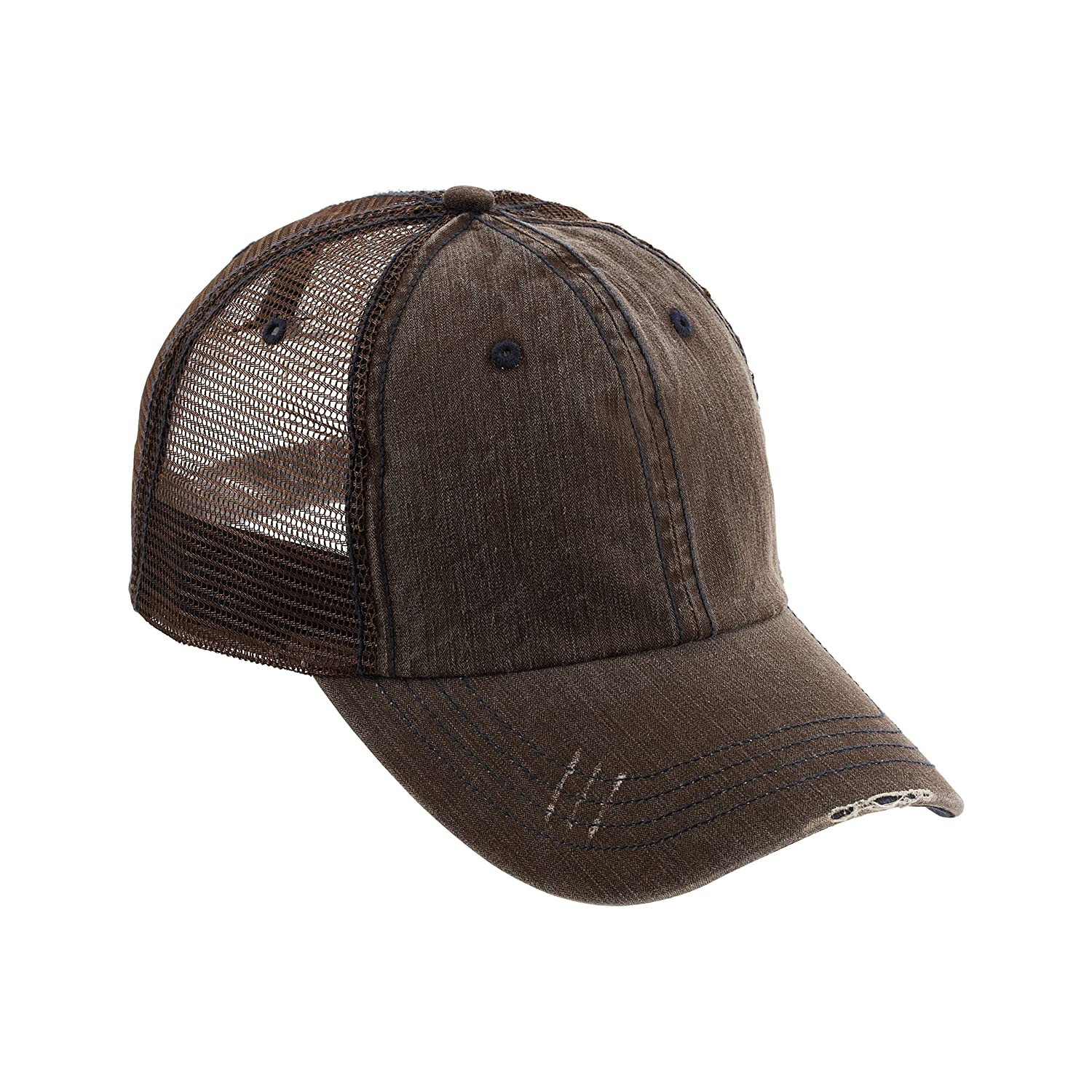 ef4eed2c7 MG Low Profile (Unstructured) Cotton Twill Mesh Cap-6990