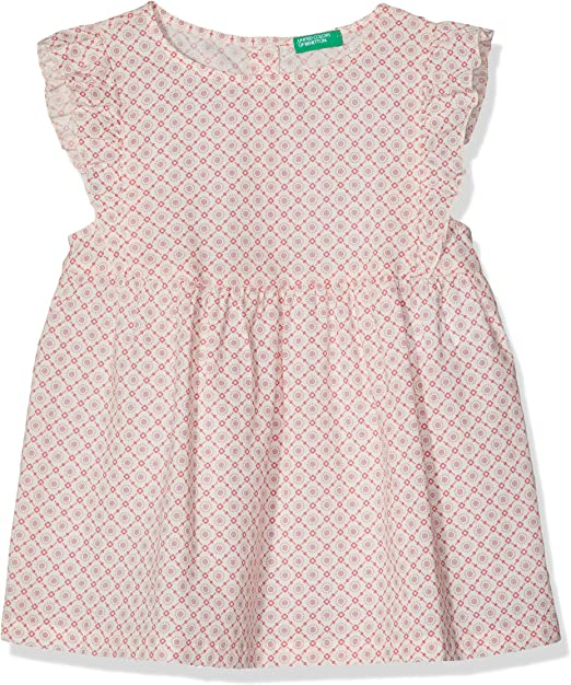 United Colors of Benetton Baby-M/ädchen Dress Kleid