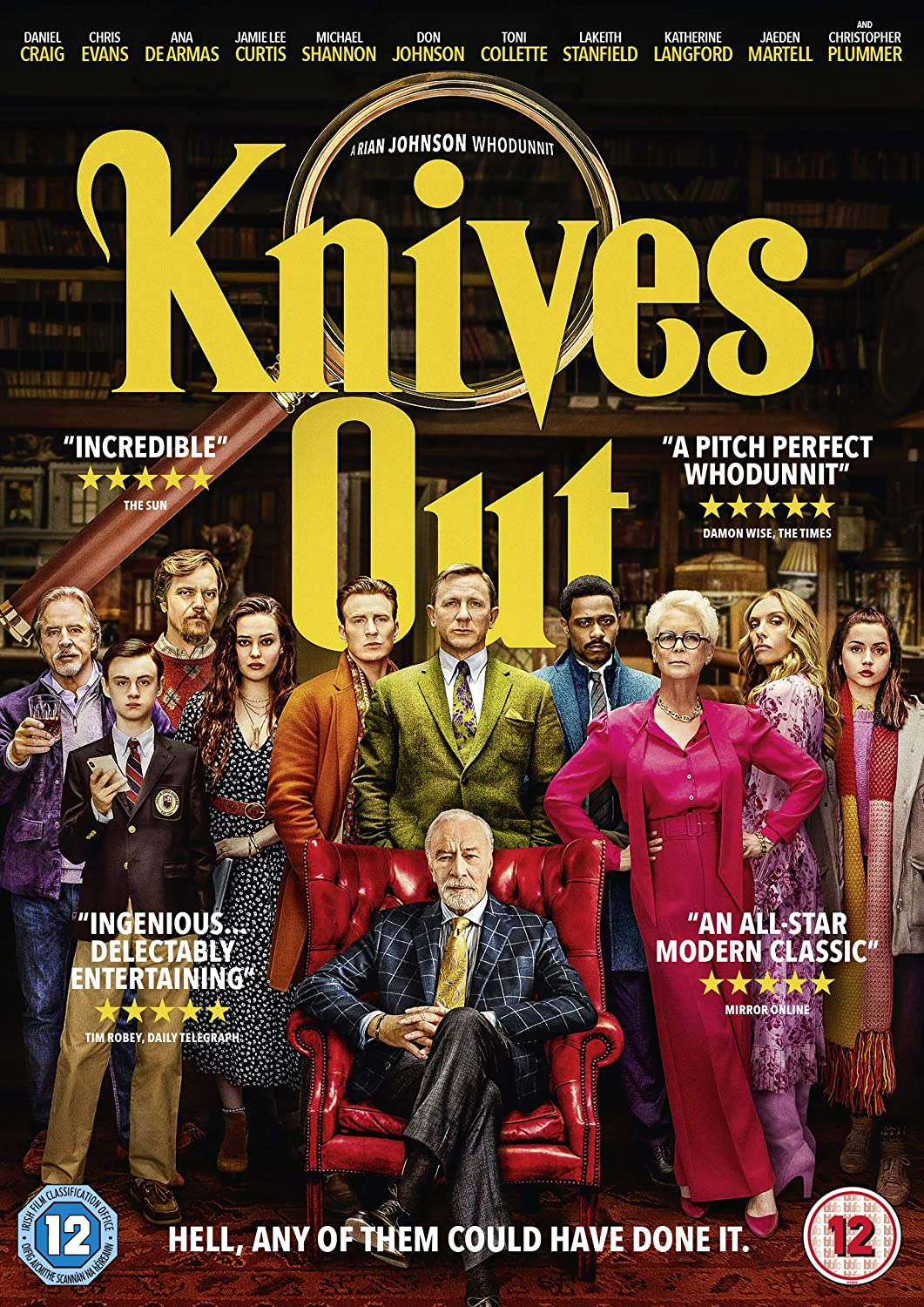 Amazon.com: Knives Out [DVD] [2019]: Movies & TV