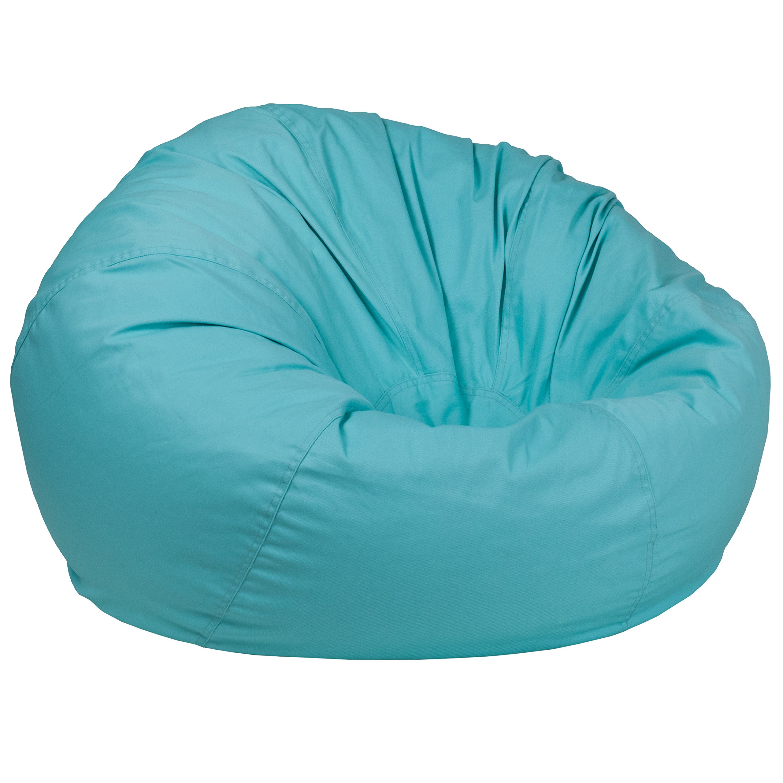 Flash Furniture Oversized Solid Mint Green Bean Bag Chair