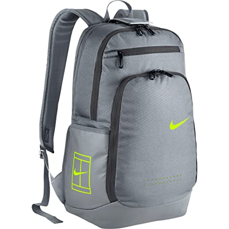 d139dd508d Nike Court Tech 2.0 Tennis Backpack Stealth Grey Volt  Amazon.ca  Luggage    Bags