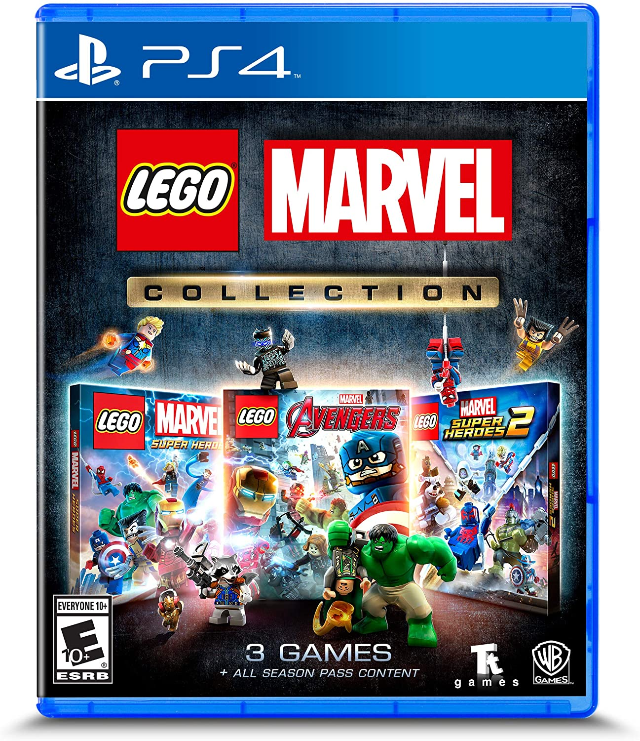 Lego Marvel Collection - Playstation 4 (xmp)