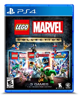 Amazoncom Lego Marvels Avengers Playstation 4 Whv Games Video