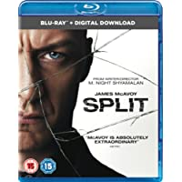 Split (Blu-ray + Digital Download) [2017]