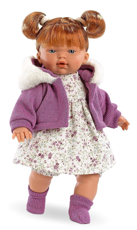 Llorens 33282 – Vino Extremo muñeca Alice, 33 cm