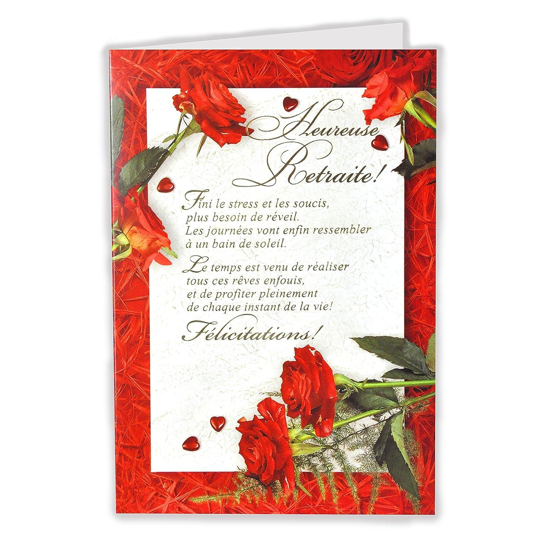 afie 35 - 761 tarjeta despedida Feliz jubilación - Rosa Rojo ...
