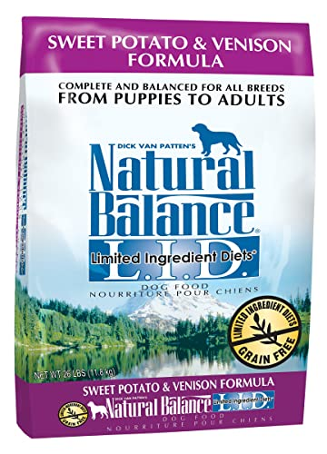 Natural-Balance-L.I.D.-Limited-Ingredient-Diets-Sweet Potato & Venison-Formula-Dry-Dog-Food