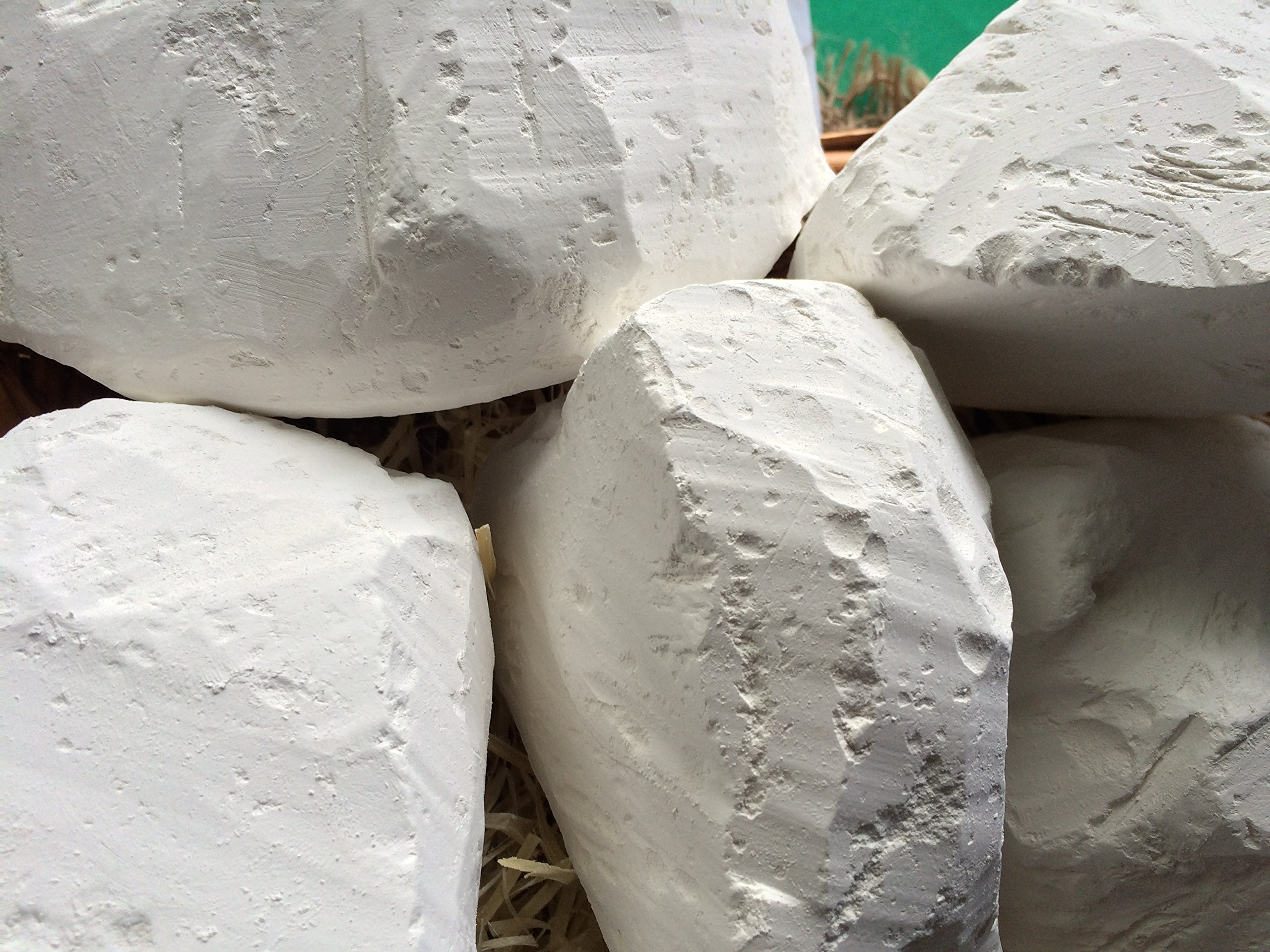 RED Edible Chalk Chunks (lump) Natural for Eating (Food), 1 lb (450 g)