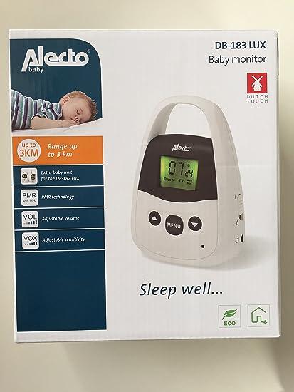 Alecto Baby Monitor Db de 183 Lux: Amazon.es: Bebé