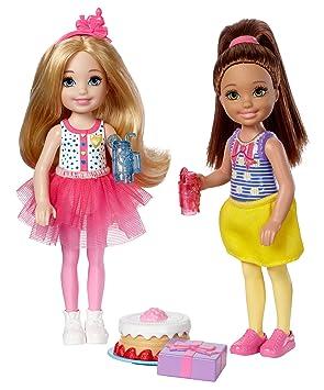 Amazon.es: Juego de 2 muñecas Barbie Chelsea DYL41, con ...