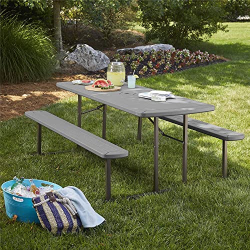 Cosco Outdoor Living 6 ft. Folding Picnic Table