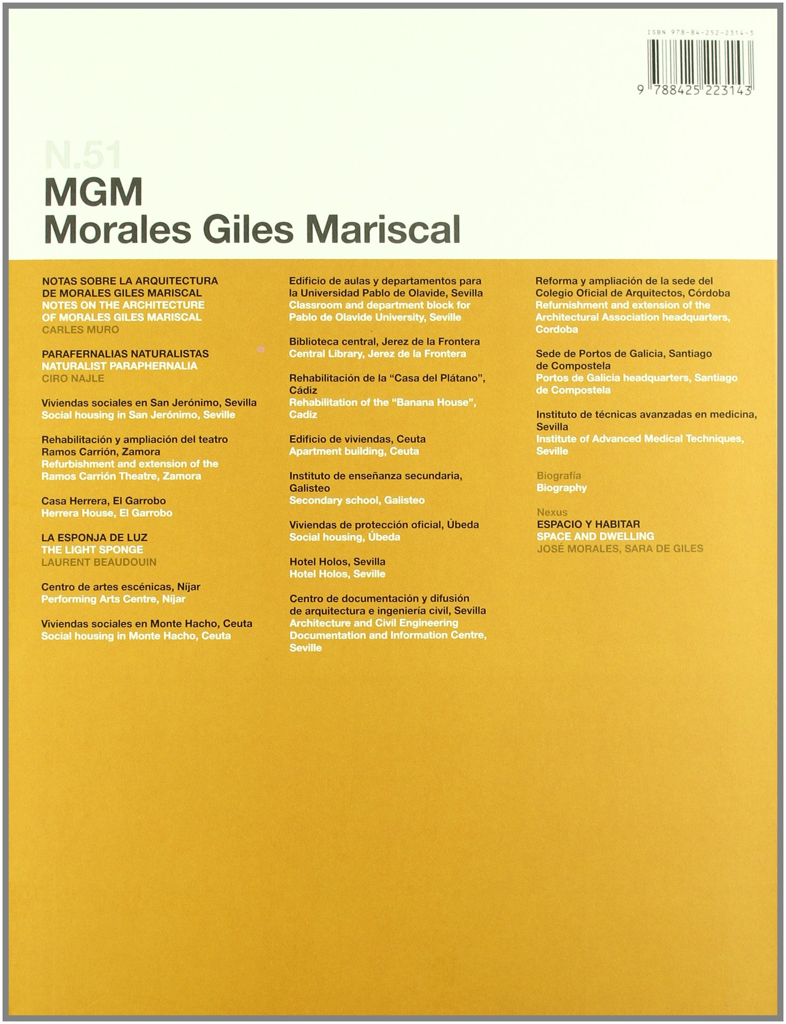 2G N.51 MGM Morales Giles Mariscal (2g Revista): Amazon.es ...