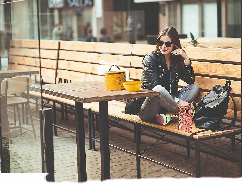One Size Guzzini Bolso t/érmico Grande de Bandolera On The Go 30 x 18 x h30 cm Arcilla
