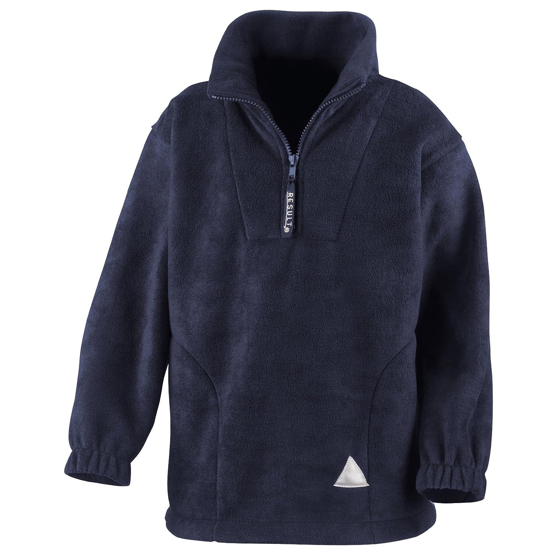 Result Unlined Active 1//4 Zip Anti-Pilling Fleece Top