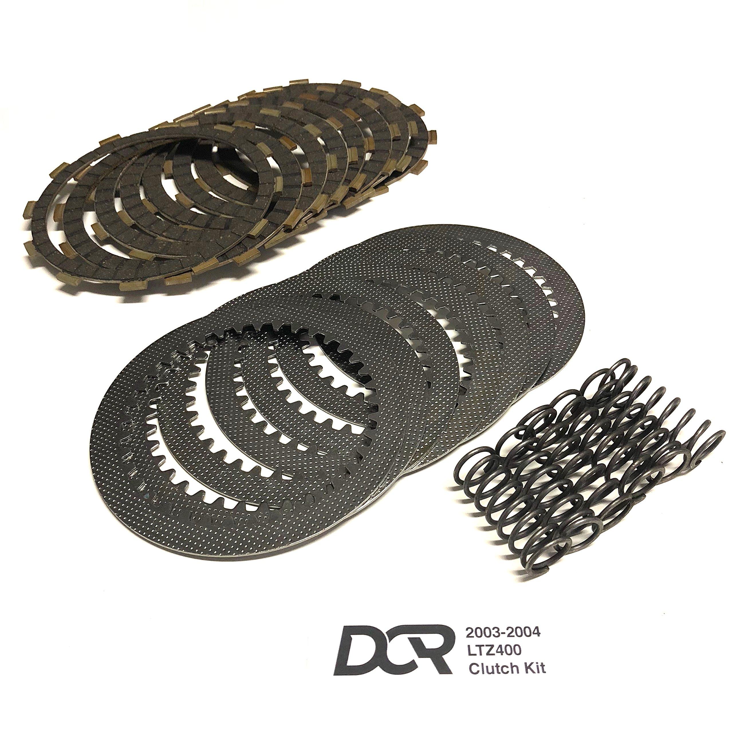 LTZ 400 DVX 400 Heavy Duty DCR Clutch Kit Plates Steels Springs 2003-2004