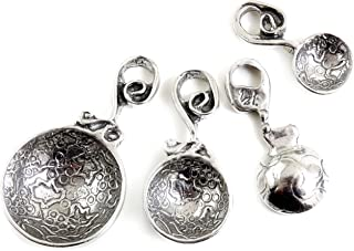 product image for Crosby & Taylor Vineyard Pewter Measuring Spoon Set without Display