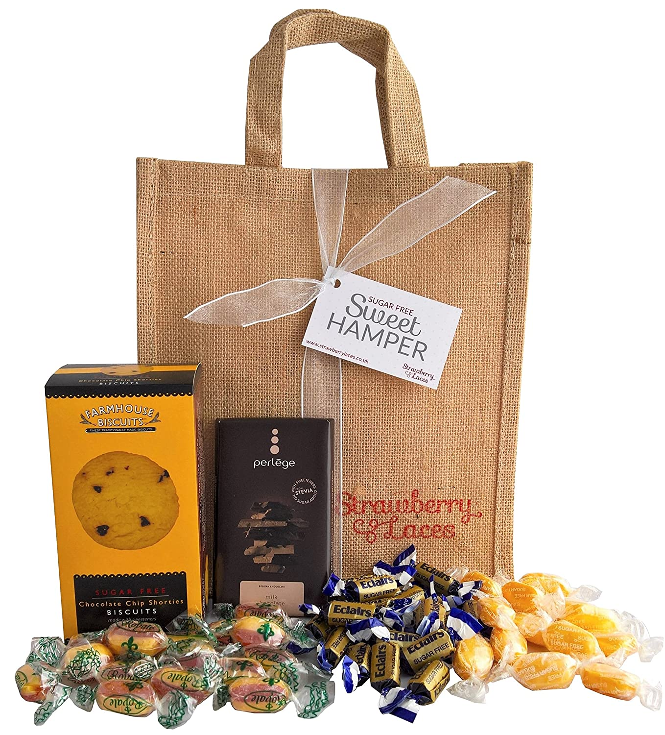 Sugar free hamper bag sweets biscuits chocolate great sugar free hamper bag sweets biscuits chocolate great diabetic gift for christmas birthday anniversary mothers fathers day valentines negle Image collections