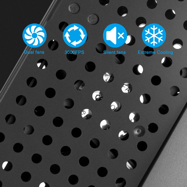 Soporte para Xbox One X - Younik Soporte Vertical con ventiladores, estación de carga, 7 ranuras de juego y 3 puertos hub USB para Xbox One X (No compatible ...