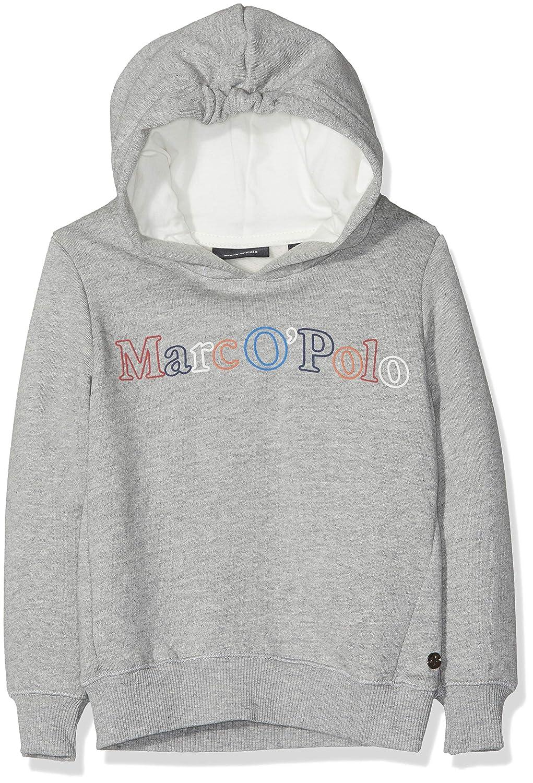 gris (Mittelgris Melange 8241) 92 cm Marc O' Polo Enfants, Sweat-Shirt Fille