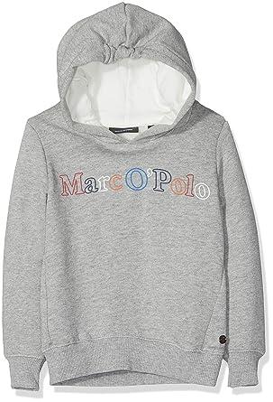 Marc O Polo Kids Sweatshirt 1/1 Arm, Sudadera para Niñas, Gris ...