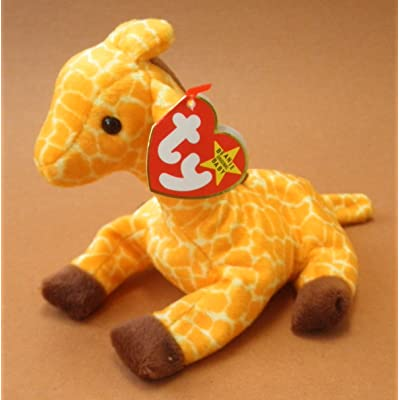 TY Beanie Babies Twigs the Giraffe Plush Toy Stuffed Animal: Toys & Games