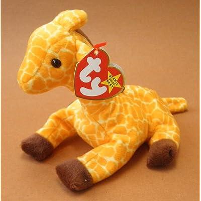 TY Beanie Babies Twigs the Giraffe Plush Toy Stuffed Animal: Toys & Games