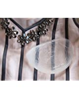 Softleaves® X900 Silicone Breast Enhancers in the medium size suitable for bra size B,C,D ( Clear colour)
