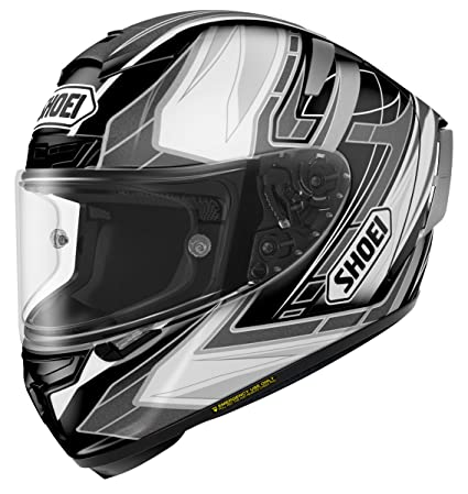 SHOEI Full Face ~ X-14 ASSAIL TC-5 BKACK/SILVER XL (