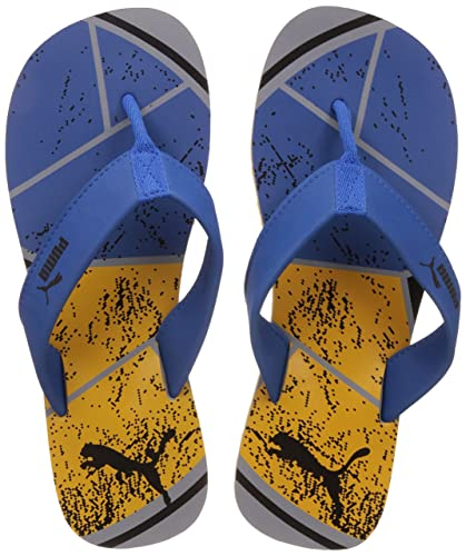 f98c14b2c Puma Men's Splash IDP Royblue-Spectyellow-Quarry Flip Flops Thong Sandals -  7 UK