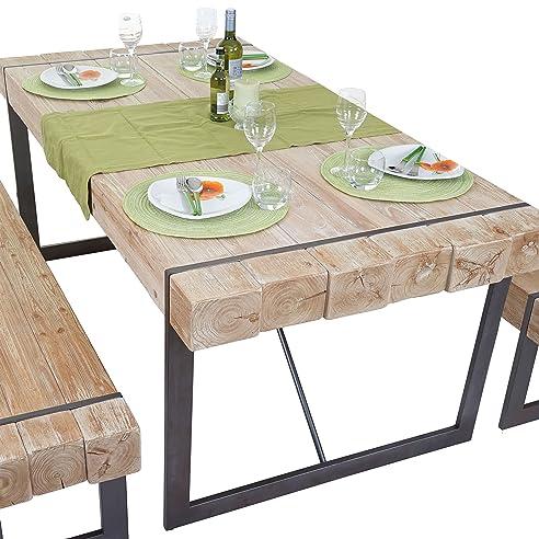 Exceptional Esszimmertisch HWC A15, Esstisch Tisch, Tanne Holz Rustikal Massiv ~  160x90cm