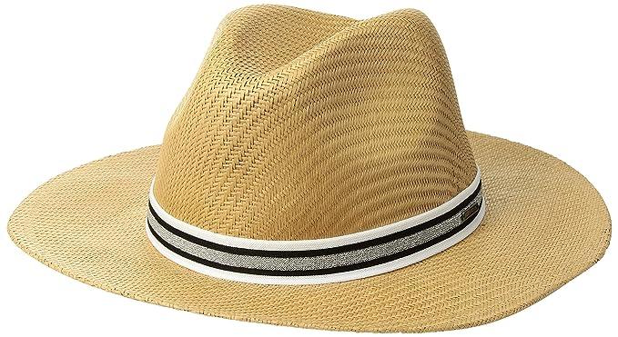 6fd0f3314bd Roxy Women s Here We Go Straw Panama Hat at Amazon Women s Clothing store