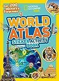 World Atlas Sticker Activity Book: Over 1,000 Stickers!