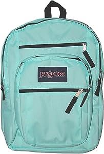JanSport Big Student Backpack (Aqua Dash/Black)
