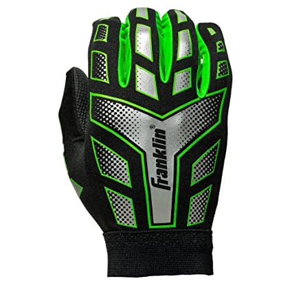 Amazon.com   Franklin Sports Youth Receiver Gloves (Assorted Colors ... 358e771ed116