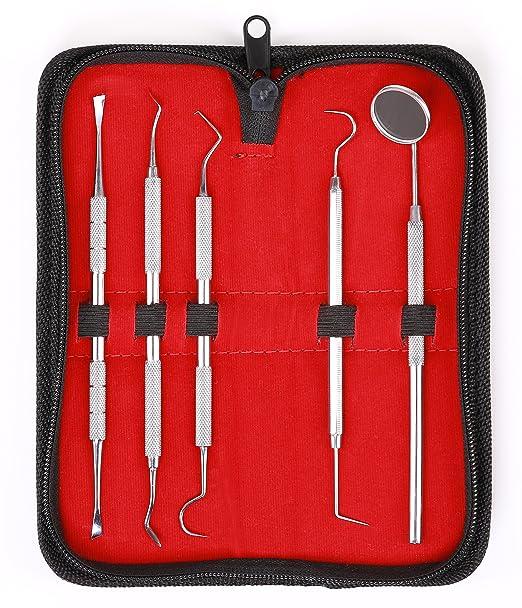 26 opinioni per Kit dentale di 5 pezzi – Sonda per la pulizia dentale – Rimuovendo il tartaro-