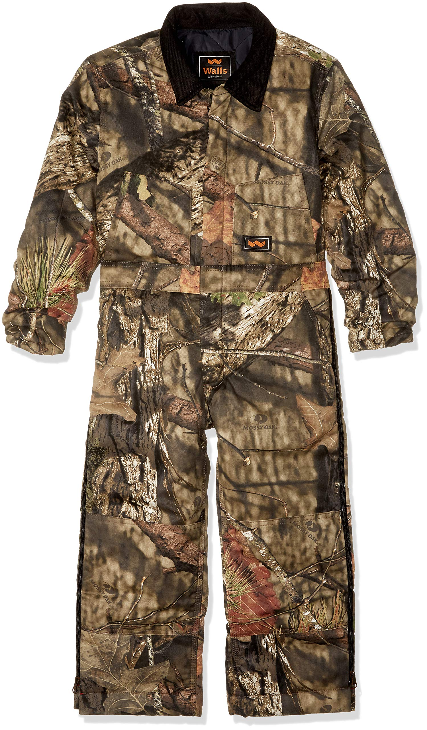Walls Boys' Big Camo Insulated Coverall, Mossy Oak Country, X-Small