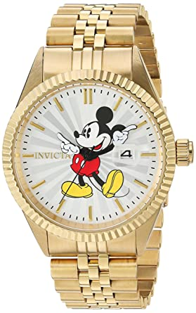 1803398b298 Image Unavailable. Image not available for. Color  Invicta Men s Disney  Limited Edition Quartz Watch ...