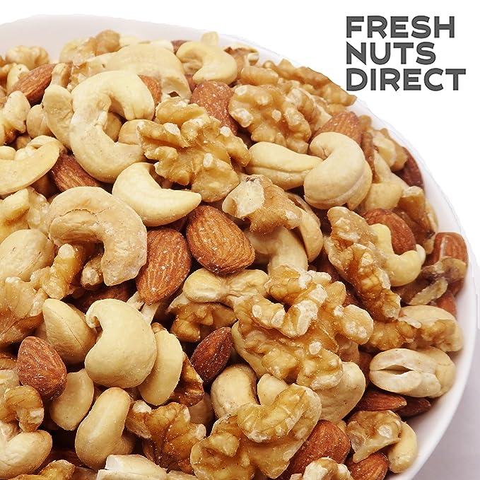 Nuez un mont?n de 1kg mixtos frutos secos (nueces, almendras, casta