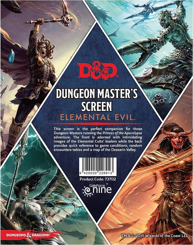 Gale Force Nine GF973702 Temple of Elemental Evil, Dungeons y ...