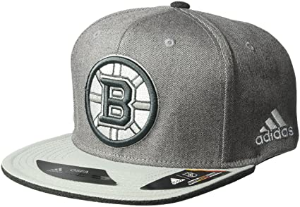 b9d8228e681 adidas NHL Boston Bruins Adult Men Pro Authentic Travel   Training Snapback