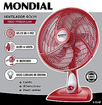 Ventilador MONDIAL Preto 110 V  Amazon.com.br  Casa ee47ca4114b