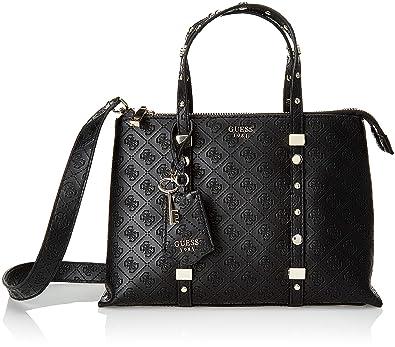 8dc5f7fd4 Guess Coast To Coast, Women's Top-Handle Bag, Black (Black/Bla), 31x23x14.5  cm (W x H L): Handbags: Amazon.com